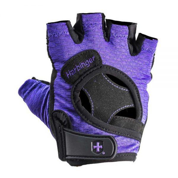 Harbinger Womens Flexfit gloves black/purple