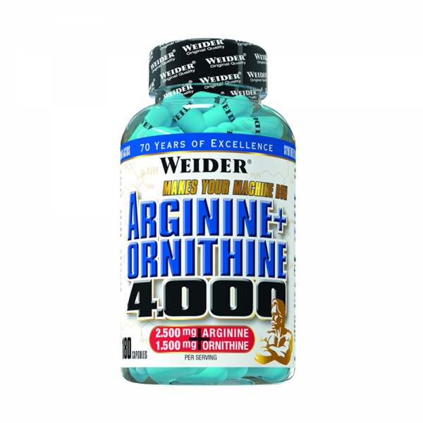 Arginine + Ornithine 4.000