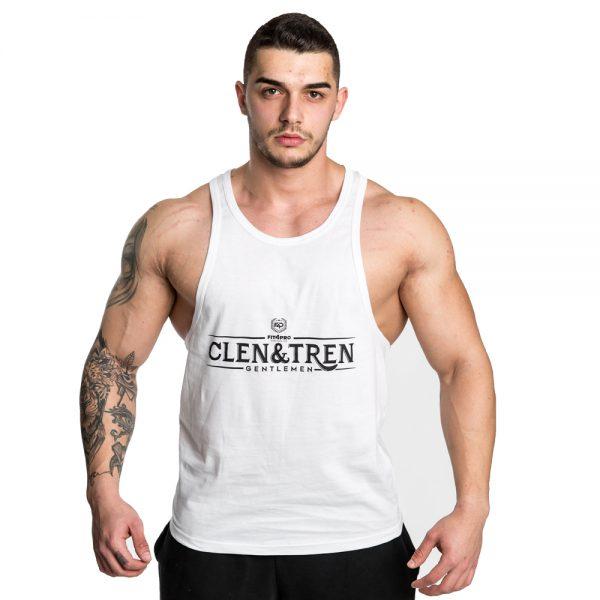 Maieu Clen&Tren Gentlemen alb