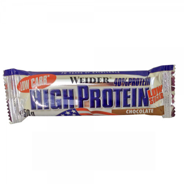 40% Low Carb High Protein Bar 50g