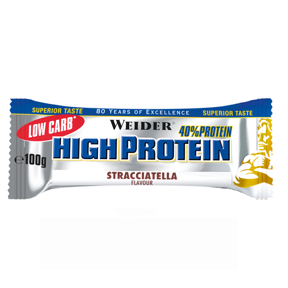 40% Low Carb High Protein Bar 100g