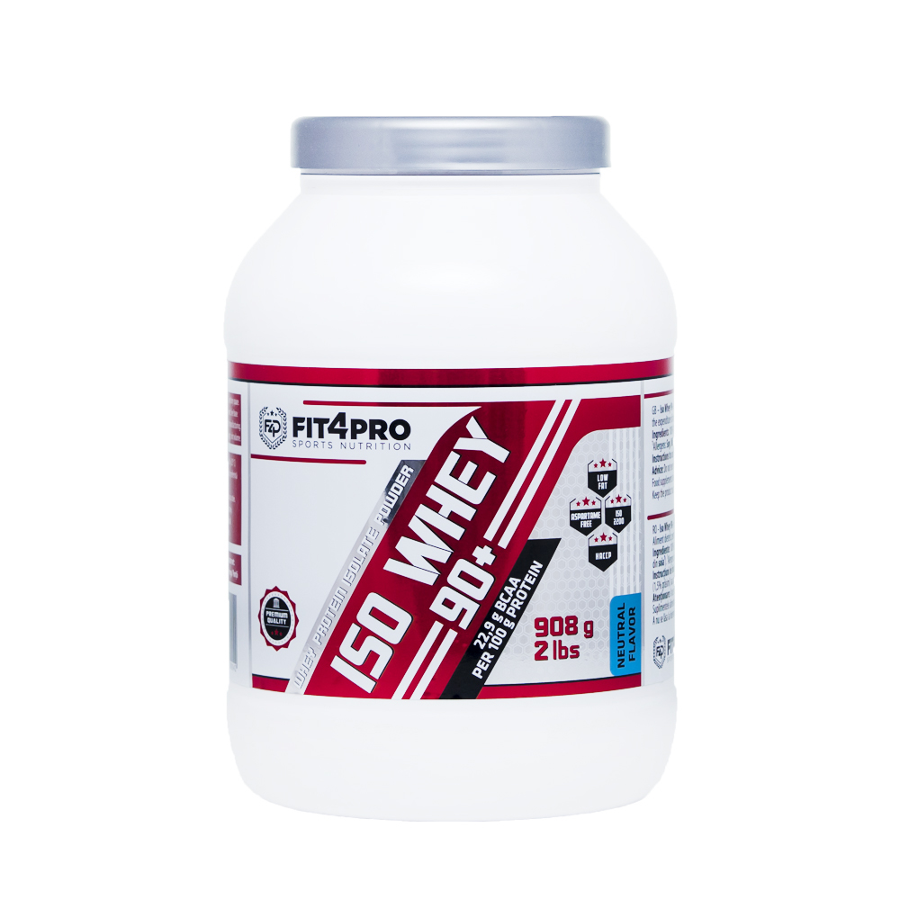 FIT4PRO Iso Whey 90+ 908g