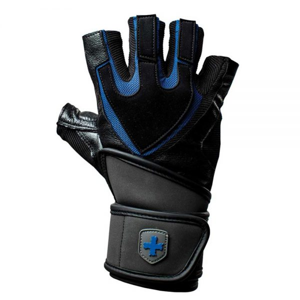 Harbinger Training Grip Wristwrap black/blue