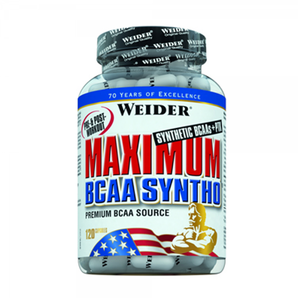 Maximum BCAA Syntho + PTK 120 capsule