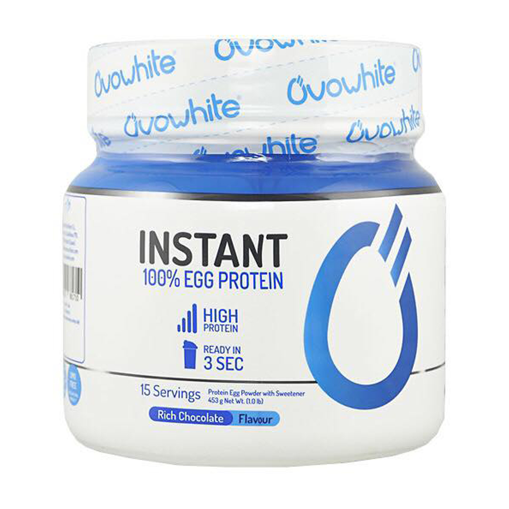 Ovowhite Instant 100% Egg Protein 453 g