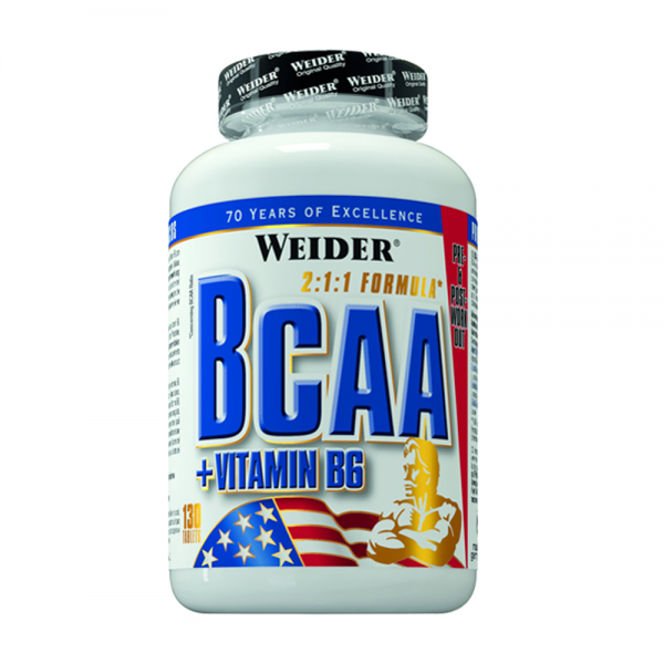 BCAA + Vitamina B6 130 tablete