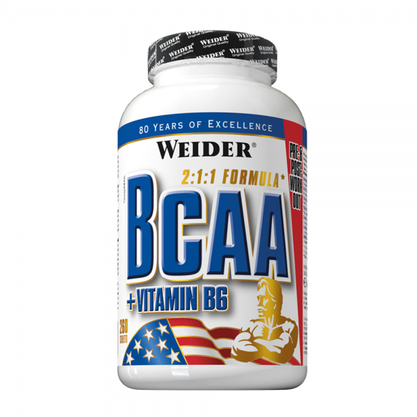 BCAA + Vitamina B6 260