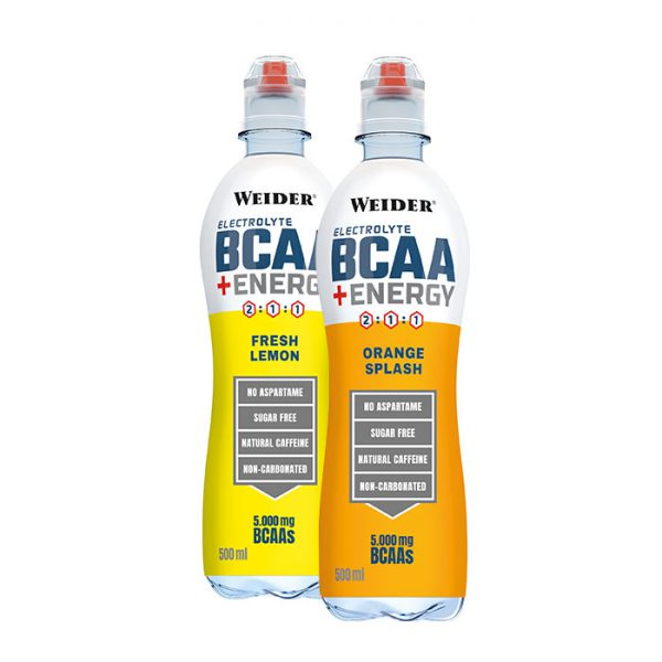 Weider Electrolyte BCAA + Energy RTD 500 ml