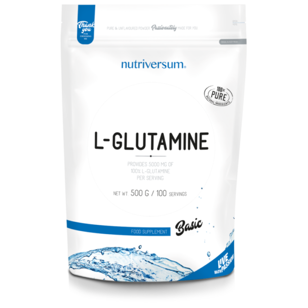BASIC L-glutamină 100%