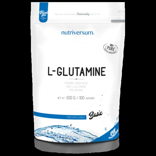 BASIC L-glutamină 100%