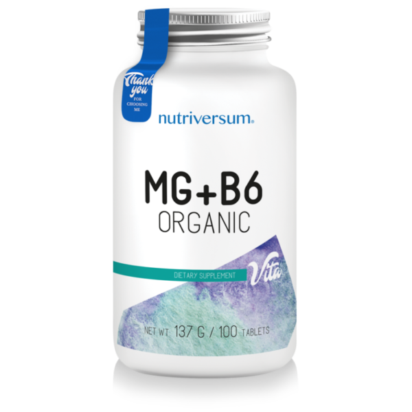VITA MG + B6 Organic