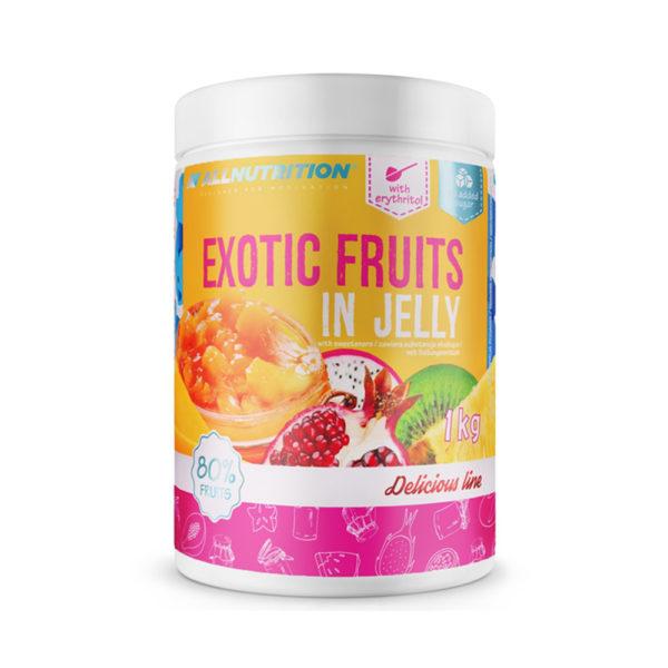 fructe exotice in jeleu