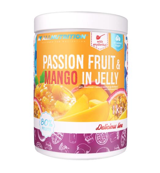 jeleu cu fructul pasiunii si mango